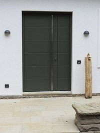 Holz-Haustür